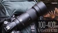 Vaata videot: Tamron 100-400mm f/4.5-6.3 Di VC USD - oma klassi kergeim ultra-telesuumobjektiiv
