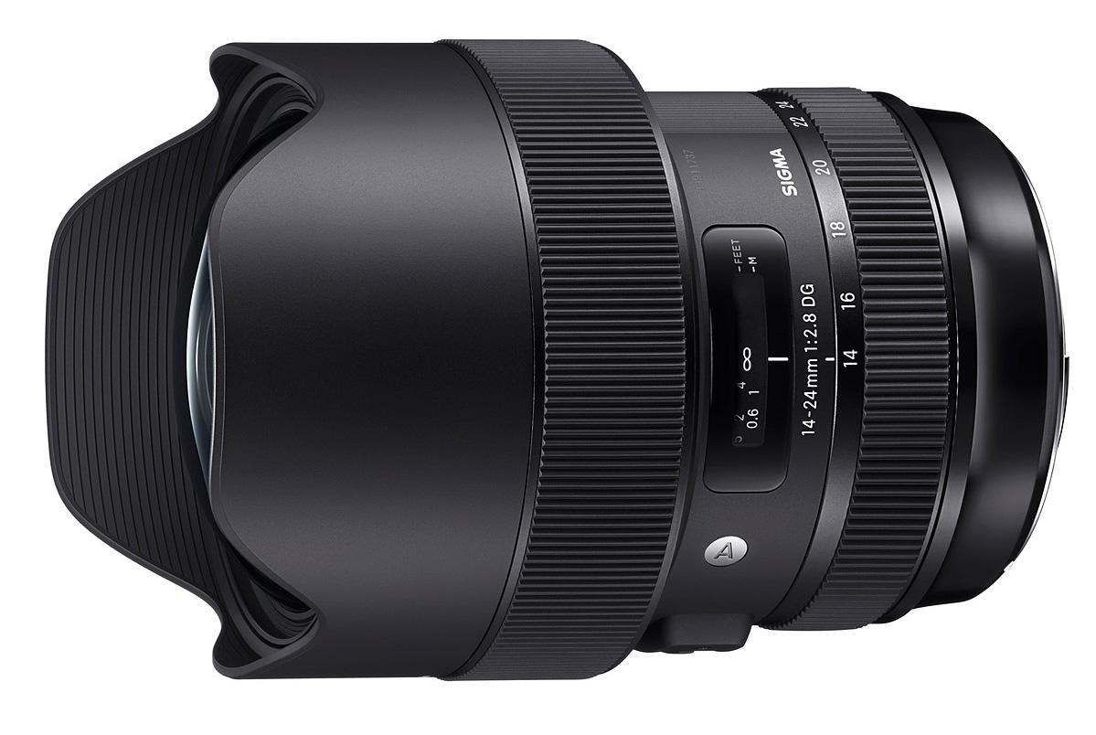 Sigma avalikustas uue 14-24mm f/2.8 DG HSM Art lainurkobjektiivi tootefotod ja andmed