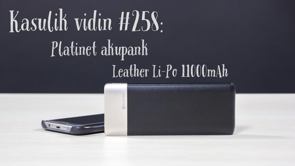 Kasulik vidin #258: Platinet akupank Leather Li-Po 11 000mAh