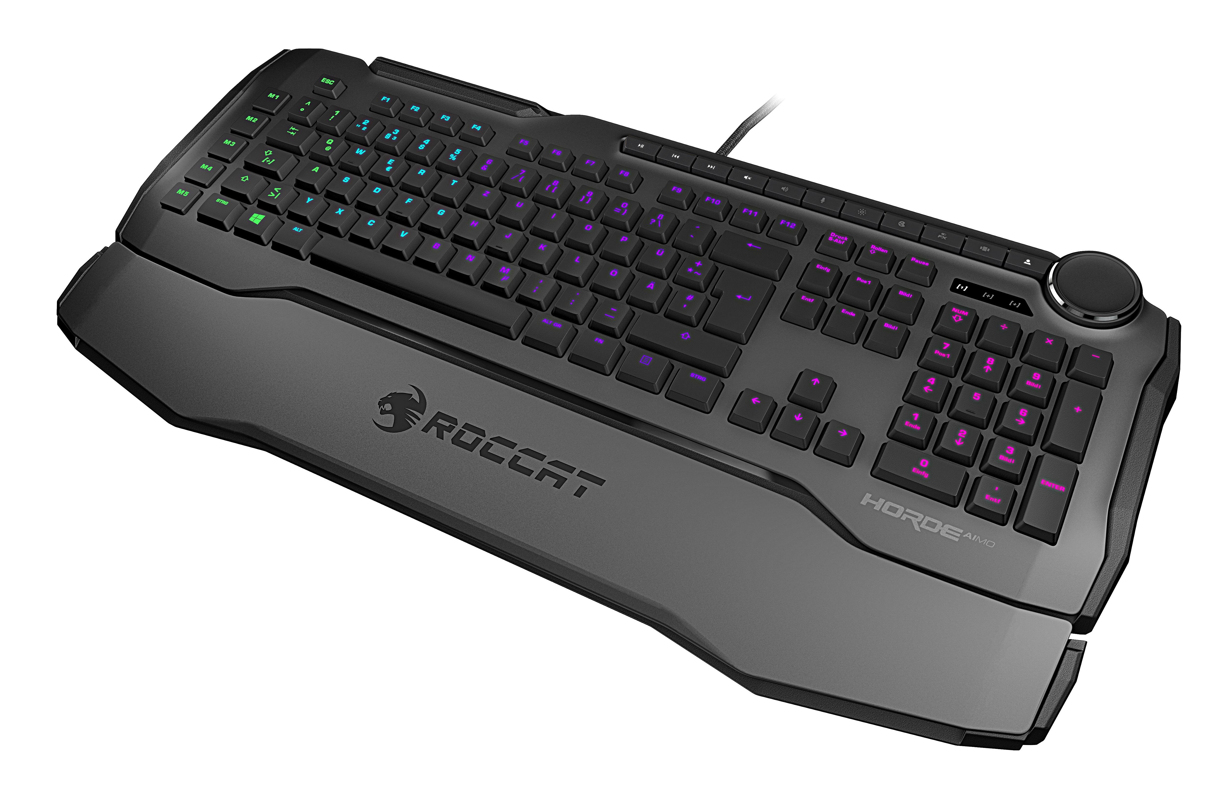Digitest.ee: Roccat Horde Aimo klaviatuur on hall, kuid mitte keskpärane