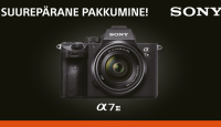 Tõeline hitt-hübriidkaamera Sony a7 III on müügil soodushinnaga + kaasa kingitus