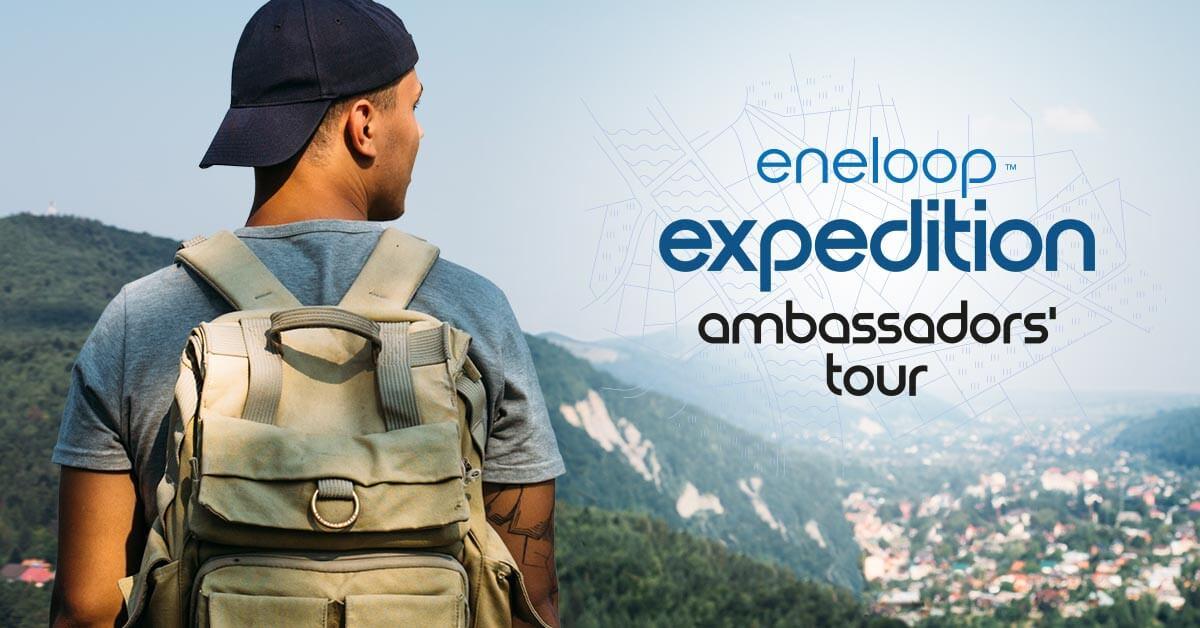 Kas oled väljakutseks valmis? Algab heategevuslik ringreis läbi Euroopa ehk eneloop ambassadors' tour.