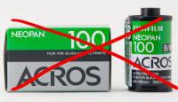 Nüüd ametlik: Fujifilm ACROS 100 fotofilmi müük lõpetatakse oktoobris 2018