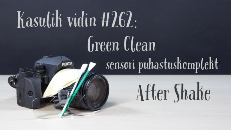 Kasulik vidin #262: Green Clean sensori puhastuskomplekt After Shake