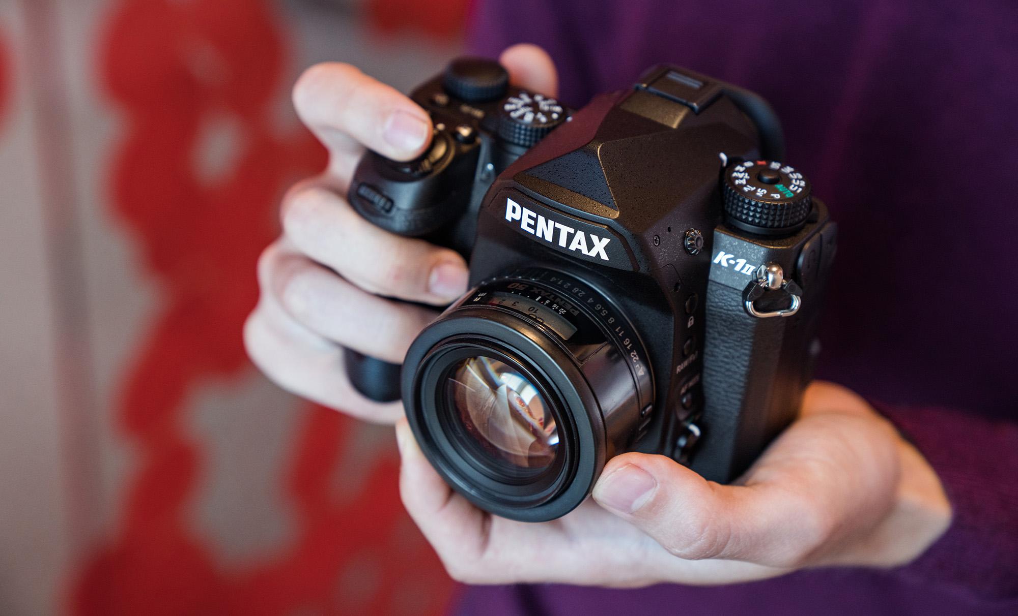 Karbist välja: Pentax K-1 Mark II peegelkaamera