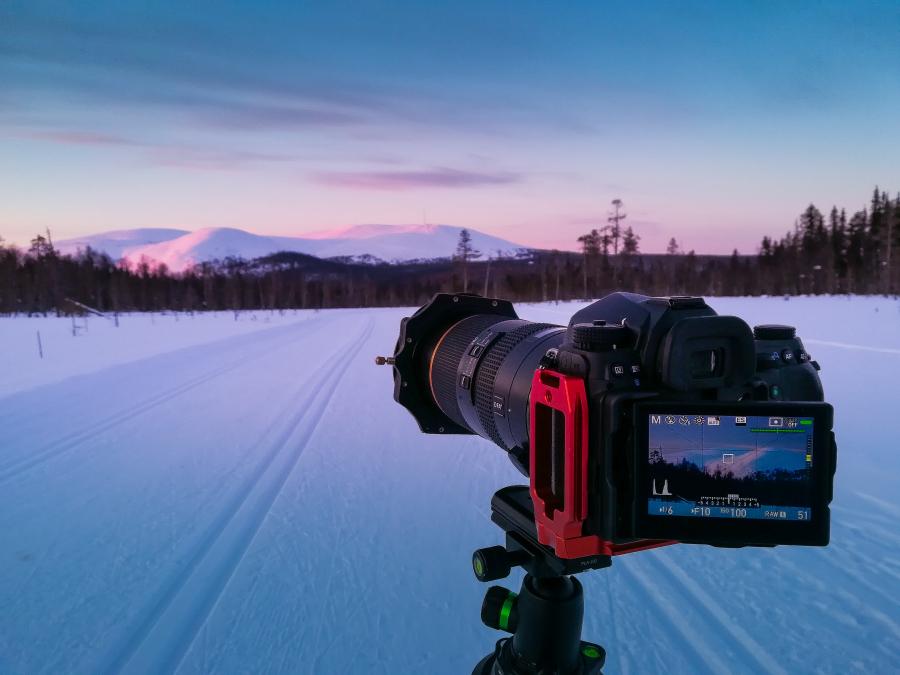 Lapimaa ilu pildile püüdmas koos Pentax D-FA* 70-200mm teleobjektiiviga