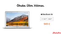 Soodushinnaga Apple MacBook Air on ideaalne kingitus kooli lõpetajale