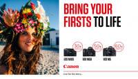 Osta valitud Canon EOS M- seeria hübriidkaamera ja saad kaasa kingituse
