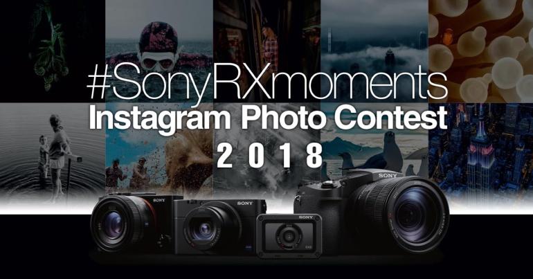 Sony RX-seeria Instagrami fotokonkurss võrgutab esindusliku auhinnafondiga
