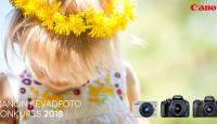 """Käimas on suur """"Canon Kevadfoto 2018"""" konkurss - osale kindlasti!"""