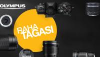 Saa valitud Olympuse fototehnika ostul Olympuselt kuni 200€ tagasi