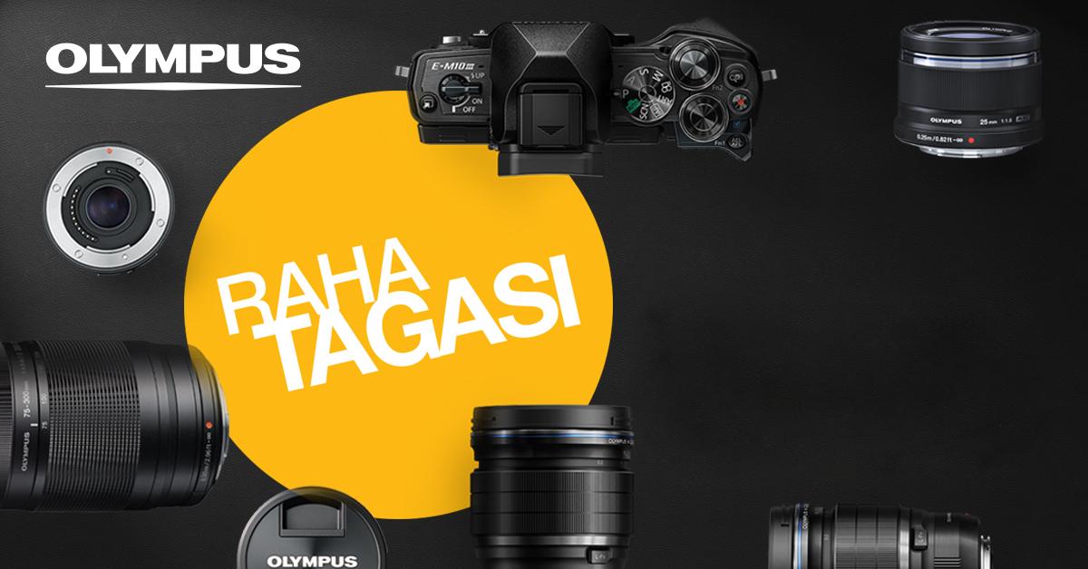 Suvekampaania: saa valitud Olympuse fototehnika ostul Olympuselt kuni 200€ tagasi