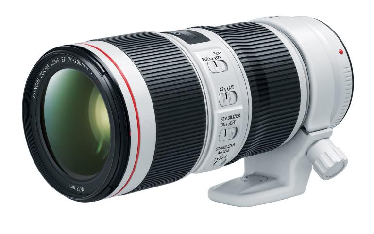 Canoni uus 70-200mm f/4L IS II telesuum lubab stabiilsemat pilti ja kiiremat autofookust