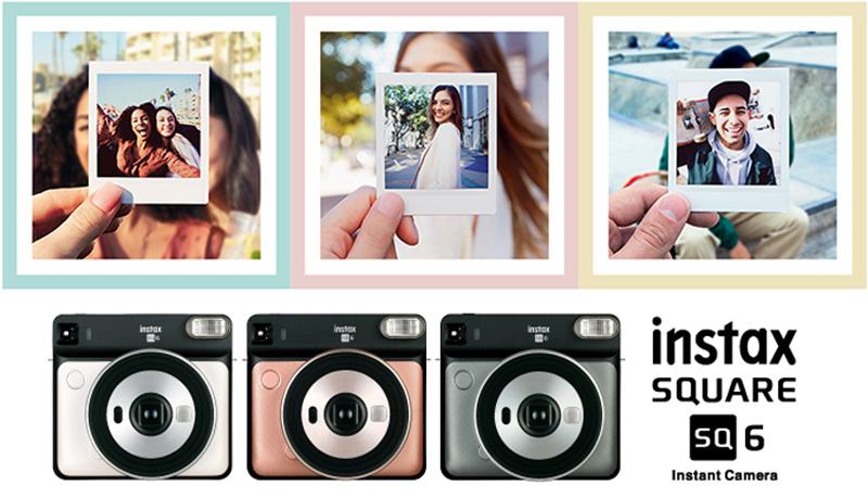 Nüüd saadaval: vau-efekti garanteeriv Fujifilm Instax Square SQ6 kiirpildikaamera
