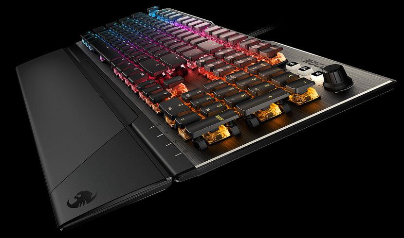Roccat Vulcan – kas maailma vingeim klaviatuur on valminud?