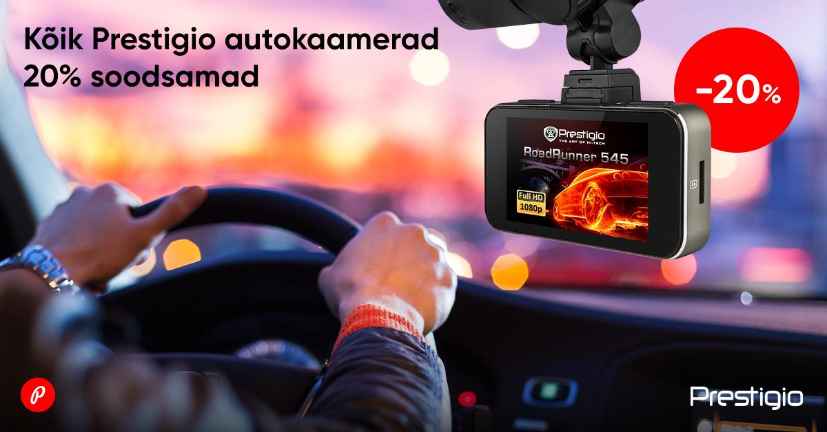 Ole road trip'ide hooajaks valmis - kõik Prestigio autokaamerad 20% soodsamad