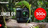 Loodusearmastajast Panasonic Lumix G9 on suvel 200-300€ soodsam