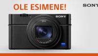 Ole esimene - eeltelli Sony uus taskukaamera RX100 VI ja saad kingiks Sony lisagarantii