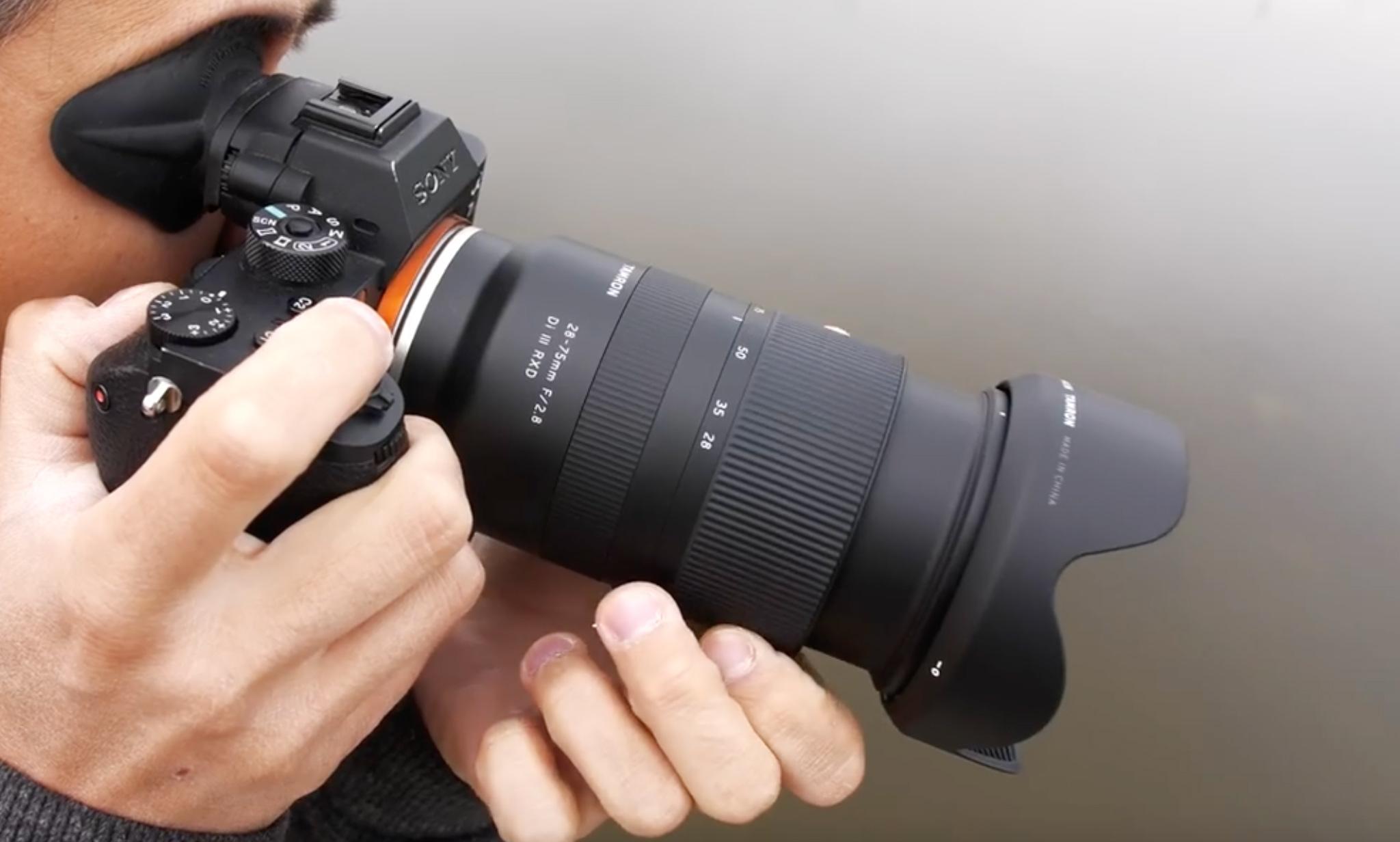 Dpreview videoülevaade Sony hübriidkaameratele mõeldud Tamron 28-75mm f/2.8 objektiivist