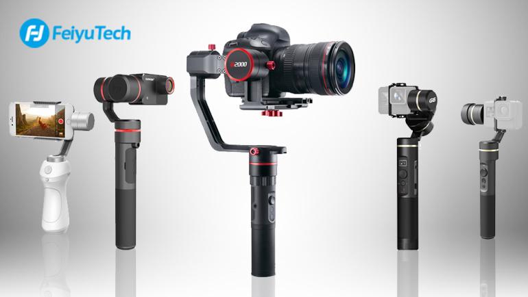 Suur valik FeiyuTech stabilisaatoreid Photopointis – milline sobib Sulle?