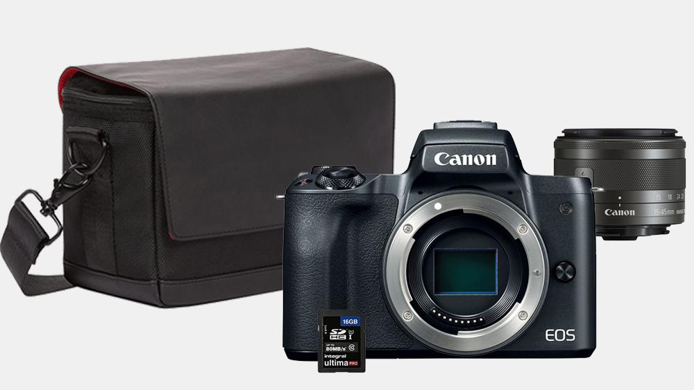 Nüüd saadaval: Canon EOS M50 hübriidkaamera erikomplekt