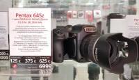 Nüüd Tallinnas rentimiseks saadaval: keskformaatkaamera Pentax 645Z + 55mm Kit