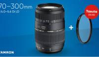Soodsa hinnaga Tamron teleobjektiiviga saad kingituseks UV filtri