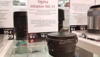 Nüüd on rentimiseks saadaval Sigma adapter MC-11 Canon EF - Sony E