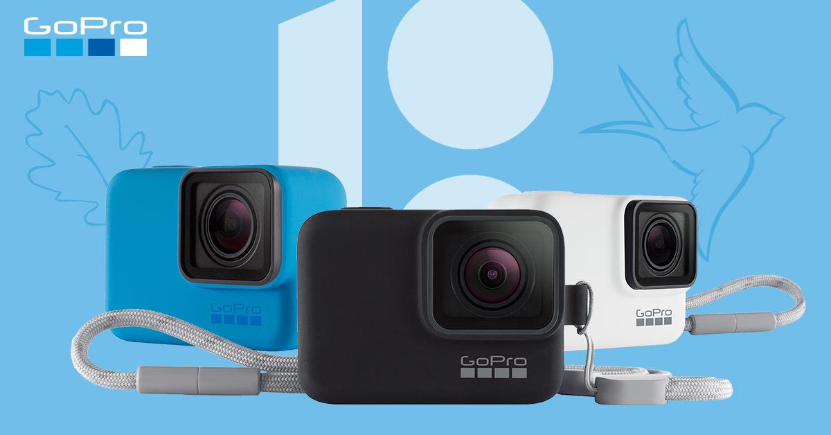 GoPro Hero seikluskaameraga saad iseseisvuse taastamise päeva puhul sinimustvalge kingituse