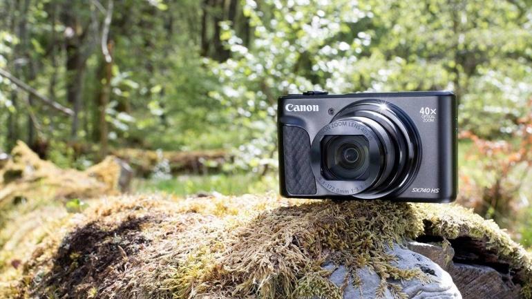 Uus Canon PowerShot SX740 HS on suurepärane kõik-ühes reisikaamera