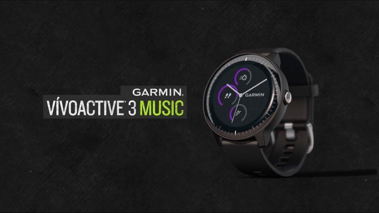 Nüüd saadaval: muusikatoega nutikell Garmin Vivoactive 3 Music