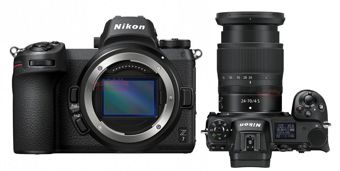 Siin see on: Nikon Z6 ja Z7 hübriidkaamerate tootefotod lekkisid ametliku avalikustamise eel