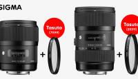 Valitud Sigma ART-seeria objektiivi ostul anname tasuta kaasa UV filtri