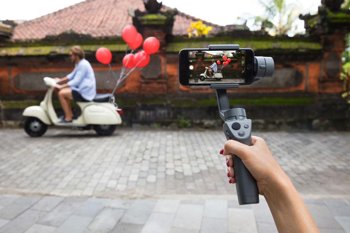 DJI Osmo Mobile 2 on taskukohase hinnaga gimbal nutitelefonile