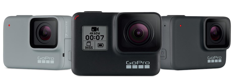 GoPro HERO7 seikluskaamerad toovad ülisujuva videopildi