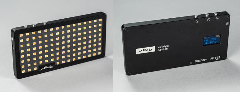 Nüüd saadaval: nutitelefoni mõõtu LED valgusti Mecalight S500 BC