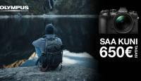 Olympus hübriidkaamerate lipulaeva ostul kuni 650€ tagasi + kingituseks akutald
