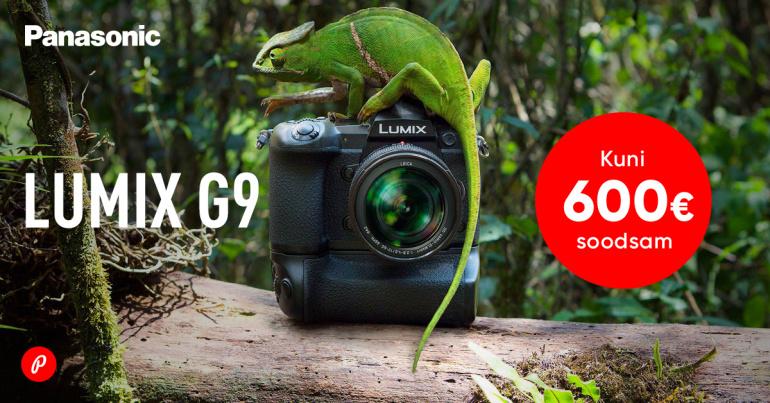 Loodusearmastajast Panasonic Lumix G9 on müügil talvise soodushinnaga