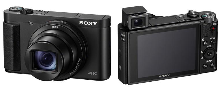 Sony võimsa suumiga kompaktkaamerad HX99 ja HX95 saavad 4K video, RAW ja puuteekraani