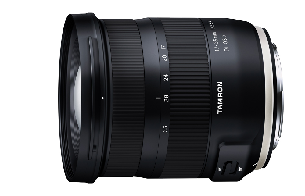 Nüüd saadaval: Tamron 17-35mm f/2.8-4 lainurkobjektiiv Canoni peegelkaameratele