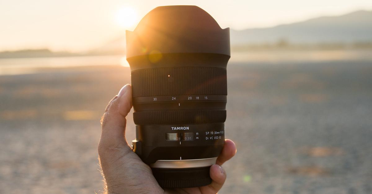 Tamron 15-30mm f/2.8 G2 profiobjektiiv on nüüd Nikon peegelkaameratele saadaval