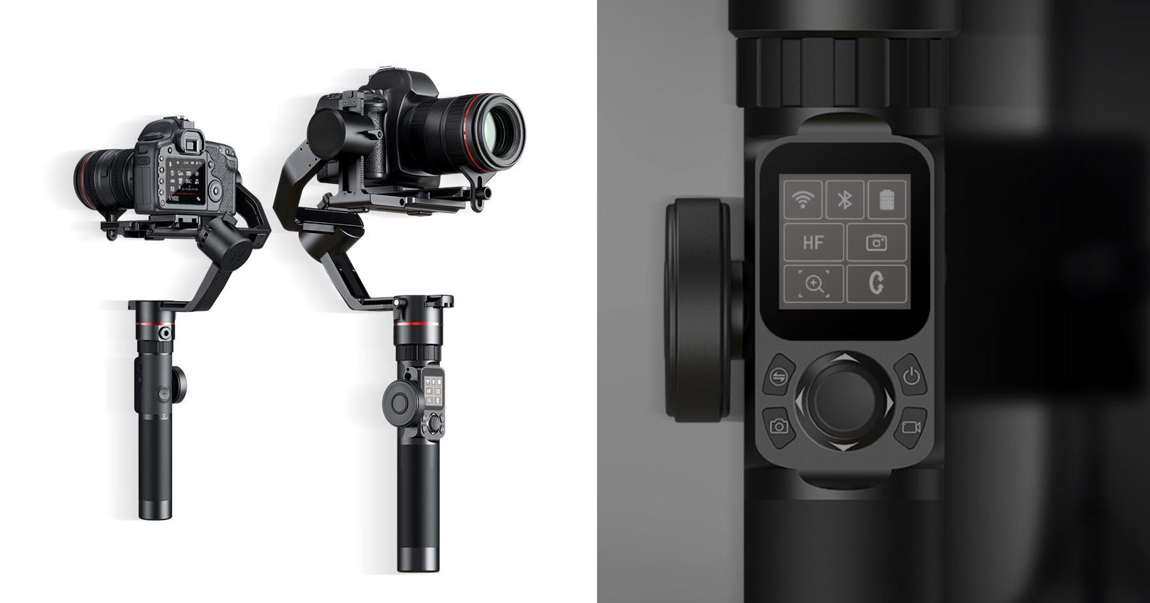Nüüd saadaval: Feiyutech AK2000 ja AK4000 kaamerastabilisaatorid