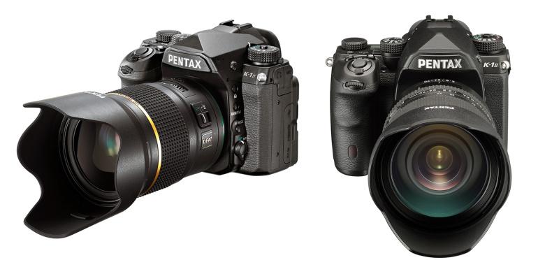 Pentax K-1 II peegelkaamera uued komplektid
