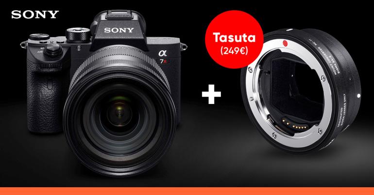 Sõge pakkumine: Sony a7R III üliodav + Sigma MC-11 ja veel 200€ tagasi