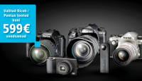 Pentax/Ricoh sügiskampaania viis valitud kaamerate hinnad alla kuni 599€