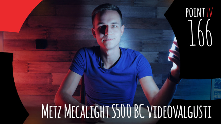 Point TV 166: Metz Mecalight S500 BC videovalgusti