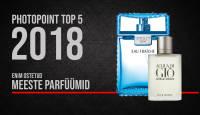 Photopointi TOP 5 – enim ostetud meeste parfüümid aastal 2018