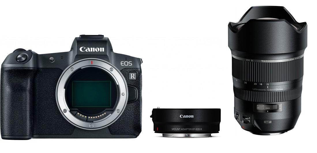 Siin on nimekiri Tamroni objektiividest, mis toimivad Canon EOS-R hübriidkaameraga