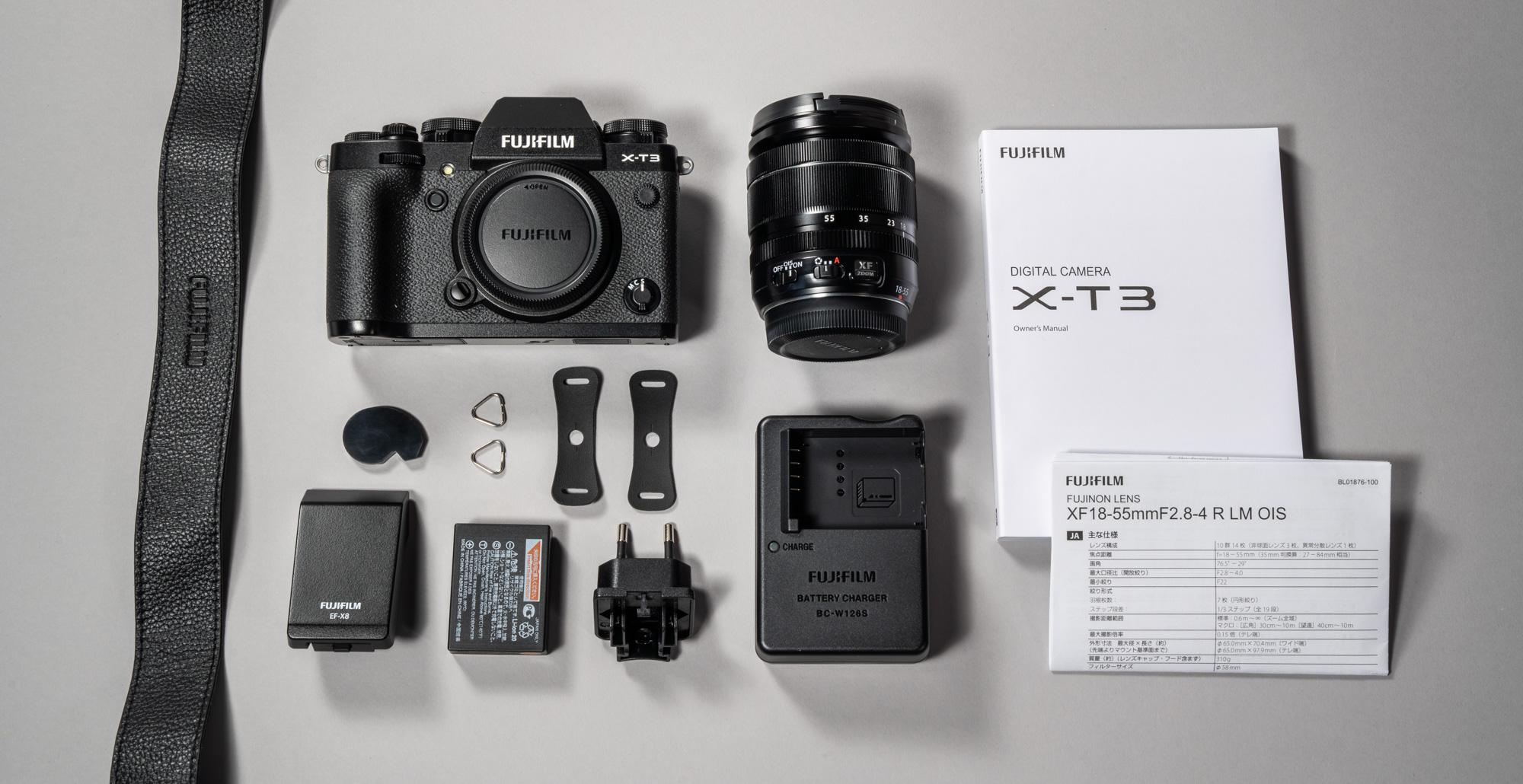 b4d1469f8b9 Karbis on: kaamerarihm, Fujifilm X-T3 hübriidkaamera, 18-55mm f/2.8-4  suumobjektiiv, metallaasad ja nahksed katted kaamerarihma kinnitamiseks,  lisatarvik, ...