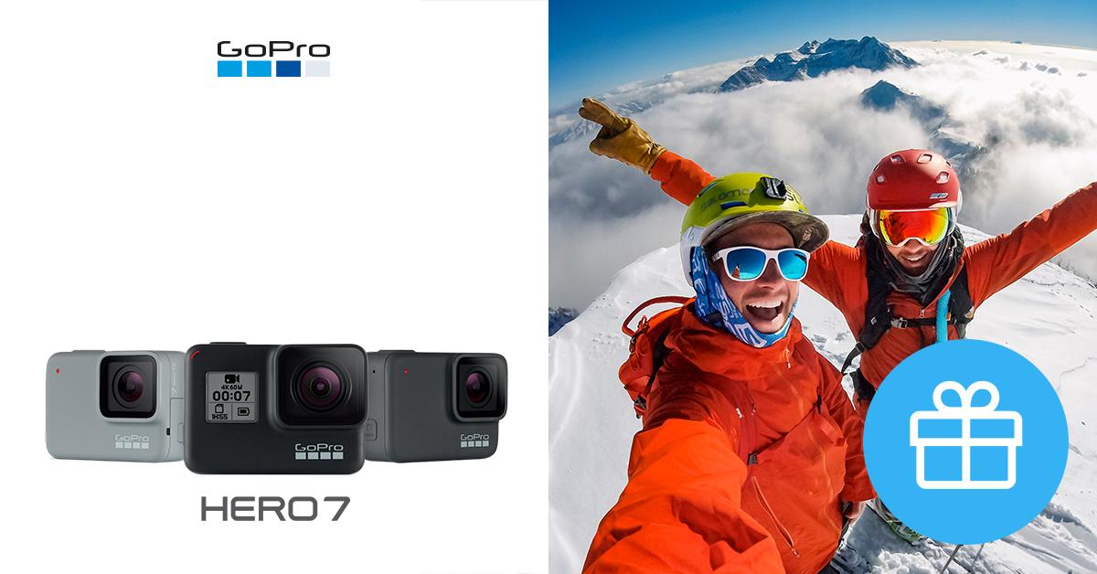 Vaata - need on GoPro HERO7 seeria jõulukuu eripakkumised